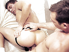 Shoving a toy dick fall in love with ass; then a moment dildo, then a hand !