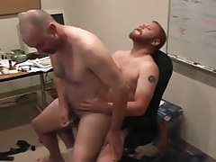 Matured man-lovers pooch mcgee and david marx find office place to team sex in 5 episode