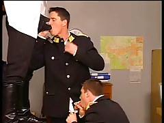 Four faggot fellows have sweaty anal for enjoyment in 1 episode