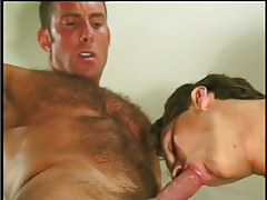 Hot navy male getting taste of jock in 4 video