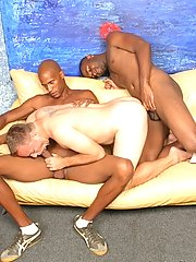 Interracial gay porn