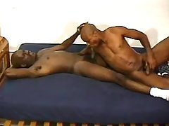 Black stud getting nastily pounded