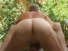 Gay man with sweet hole sucks old gay