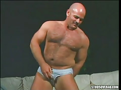 Bear mature gay presents hairy body