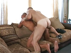 Hairy gay drills latin gay in doggy style